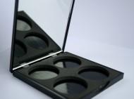 Пустой бокс для теней на 4 цвета Cinecitta Empty case for 4 eye shadows: фото