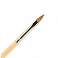 Кисть для ногтей ВАЛЕРИ-Д (лак) из волоса колонка №4 лепесток: фото