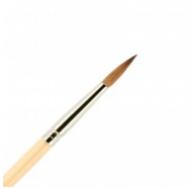 Кисть для ногтей (акрил) ВАЛЕРИ-Д из волоса колонка №4 круглая: фото