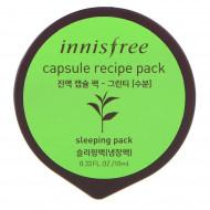 Маска капсульная для лица с экстрактом зеленого чая INNISFREE Сapsule Recipe Pack Green Tea: фото