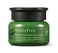 Крем глубокоувлажняющий вокруг глаз с семенами зеленого чая INNISFREE Green tea seed eye cream 30мл: фото