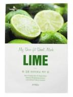 Tканевая маска с лаймом A'PIEU My Skin-Fit Sheet Mask Lime: фото