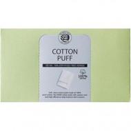 Спонжи косметические из 100% хлопка The Saem Cotton Puff 80шт: фото