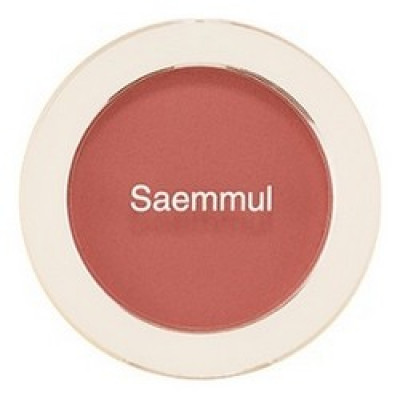 Румяна THE SAEM Saemmul Single Blusher RD03 Trench Rose 5гр: фото
