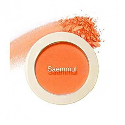 Румяна THE SAEM Saemmul Single Blusher OR02 Selfie Orange 5гр: фото