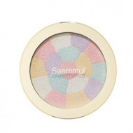 Хайлайтер минеральный THE SAEM Saemmul Luminous Multi Highlighter 01. Pink White 8гр: фото