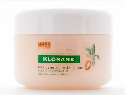 Маска с маслом Манго для сухих, поврежденных волос Klorane Dry Hair 150мл: фото