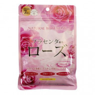 Маска для лица с экстрактом розы Japan Gals Pure5 Essential 30 шт: фото