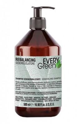 Шампунь восстанавливающий Dikson REBALANCING Shampoo SEBOREGOLATORE 500мл: фото