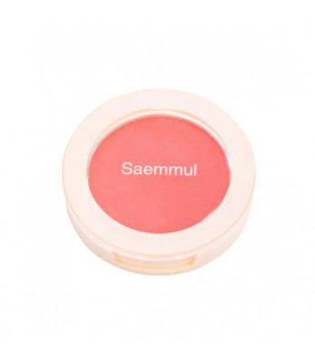 Румяна THE SAEM Saemmul Single Blusher PK01 Bubblegum pink 5гр: фото