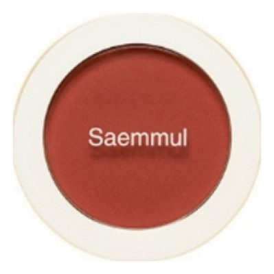 Румяна THE SAEM Saemmul Single Blusher OR03 Persimmon Juice 5гр: фото