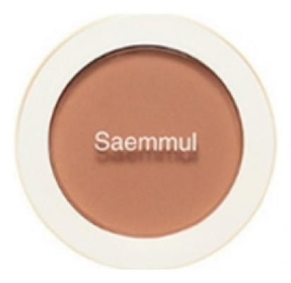 Румяна THE SAEM Saemmul Single Blusher BE03 Knit Beige 5гр: фото