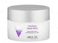 Маска очищающая с активированным углём Aravia professional Purifying Detox Mask 150 мл: фото