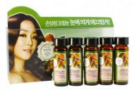 Ампулы для волос с аргановым маслом Welcos Confume Argan Treatment Hair Ampoule 15мл*5: фото