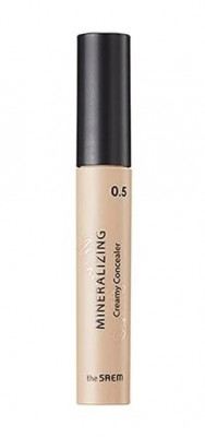 Консилер кремовый THE SAEM Mineralizing Creamy Concealer 0.5 Snow 4мл: фото