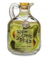 Маска тканевая фруктовая авокадо Baviphat Avocado Juicy Mask Sheet (Nutritious&Lifting) 23г: фото