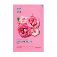 Маска тканевая увлажняющая Holika Holika PURE ESSENCE дамасская роза, 20 мл: фото