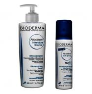 Набор Bioderma Atoderm: Бальзам Интенсив 500 мл + SOS спрей 200 мл: фото