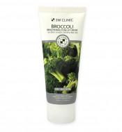 Осветляющий крем с экстрактом брокколи 3W CLINIC Broccoli Brightening Tone Up Cream: фото
