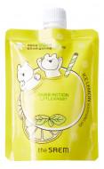 Гель для лица и тела успокаивающий THE SAEM Over Action Rabbit Ice Lemon Soothing Gel 180мл: фото