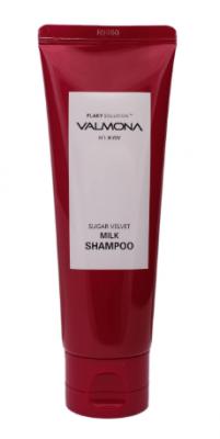 Шампунь для волос ЯГОДЫ EVAS VALMONA Sugar Velvet Milk Shampoo 100 мл: фото