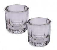 Комплект стаканчиков стеклянных для разведения краски/хны 10мл*2шт: фото