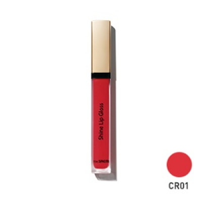 Блеск для губ THE SAEM Eco Soul Shine Lip Gloss CR01 Coral Nectar 3,4гр: фото