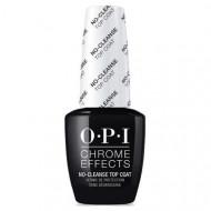 Топ без липкого слоя OPI Chrome Effects No Cleanse Top Coat 15 мл: фото