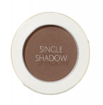 Тени для век матовые THE SAEM Saemmul Single Shadow Matte BR21 Horror Brown: фото