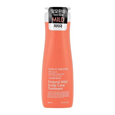 Кондиционер для сухой и чувствительной кожи головы DAENG GI MEO RI Look At Hair Loss Natural Mild Scalp Care Treatment 500мл: фото