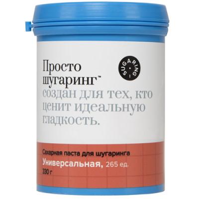 Сахарная паста для депиляции универсальная Gloria Просто Шугаринг 0,33 кг: фото